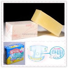 Hot melt adhesive for sanitary towel and non-woven goods
