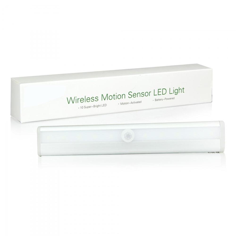 forecum marke led-licht mit bewegungssensor, 10 led pir