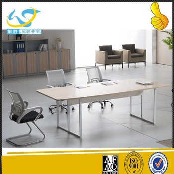modern oem service table 6 person conference table