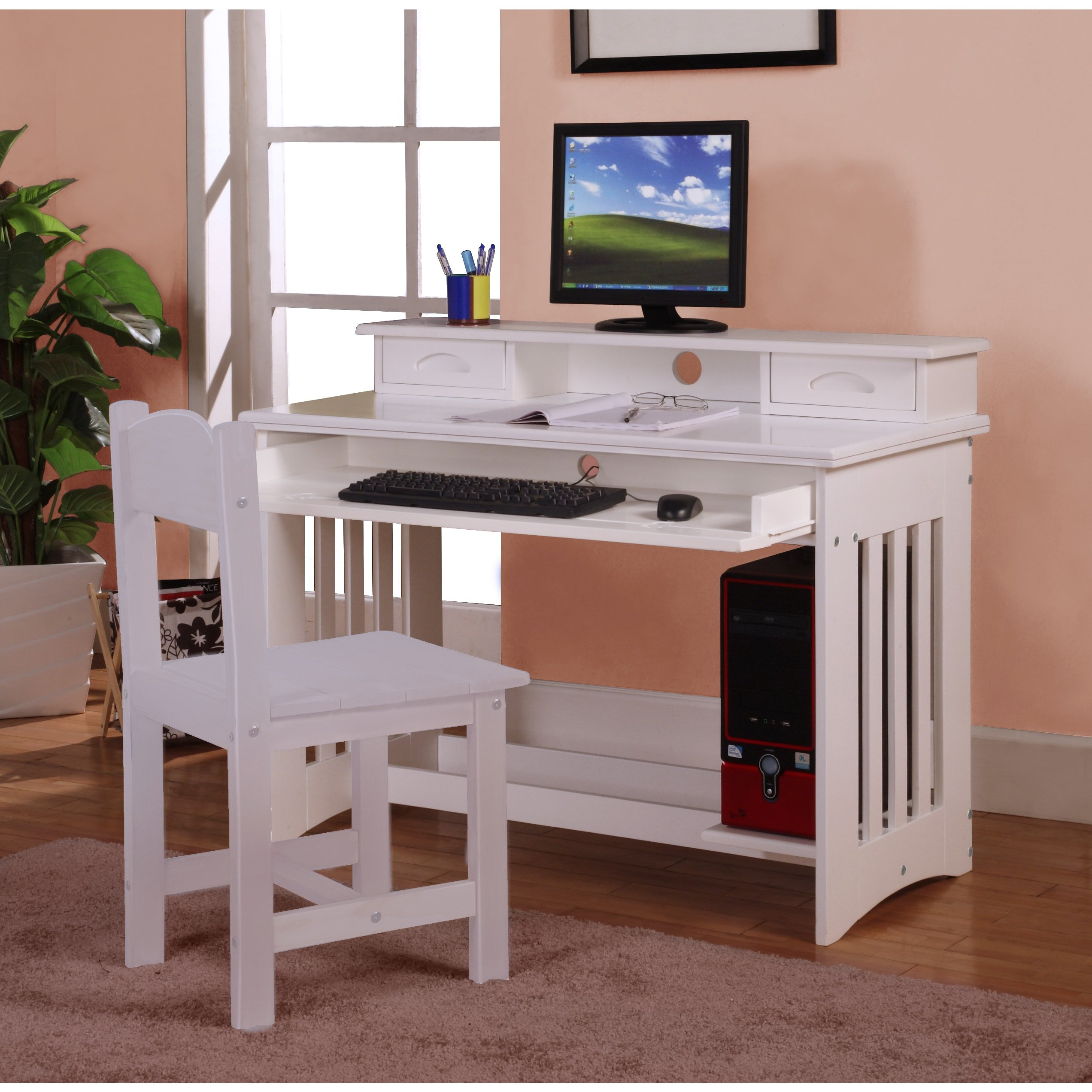 white computer desk with keyboard tray modern compact computer get quotations american furniture classics white wood writing desk with keyboard tray cheap tray find deals on line at