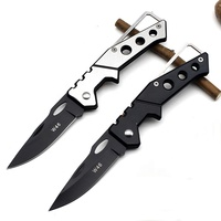 Mini Portable Fold Camping Tactical Folding Pocket Ring Outdoor Tools Hunting Edc Stainless Key Knife