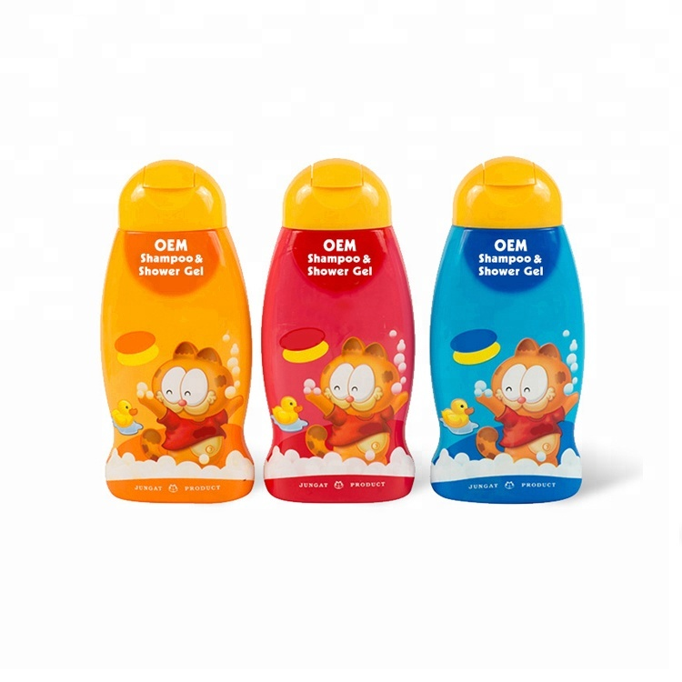 Private Label Kinderen 2 In 1 Shampoo En Douchegel Bad Body Wash Voor Kids