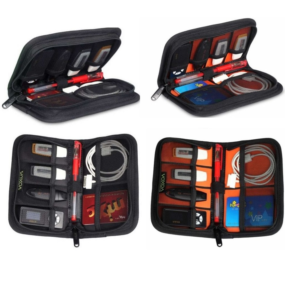 Portable Carrying Bag For Usb Flash Drive Case Cable