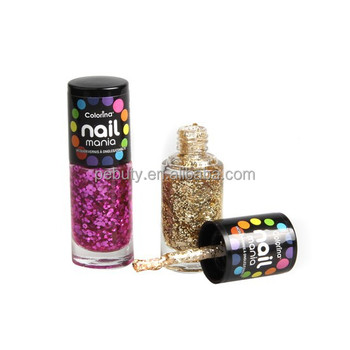 Colorina Whole Private Label Glitter Nail Polish