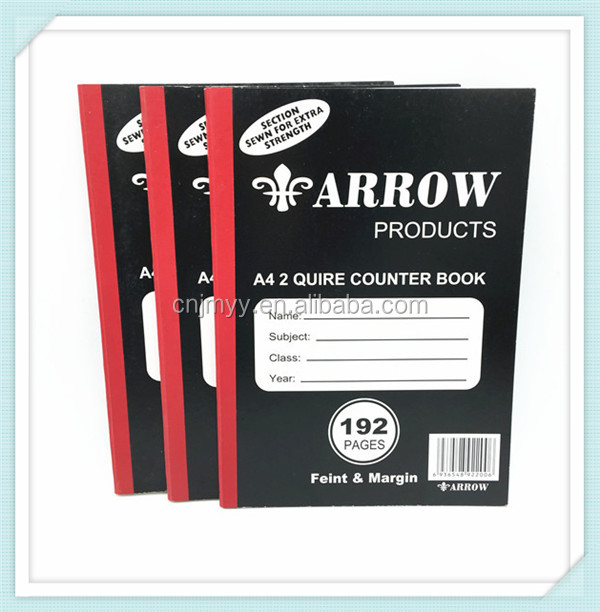 A4 2 quire counter book