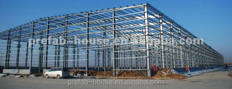 light steel structure frame ware house