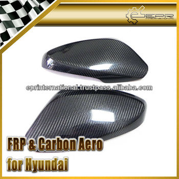 For Hyundai Veloster Turbo Gamma Carbon Fiber Side Mirror Cover
