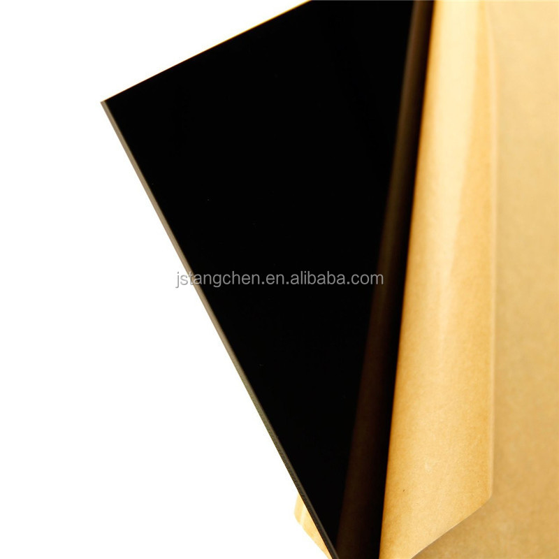 Donchamp eco-friendly transparent black acrylic plastic sheets for furniture
