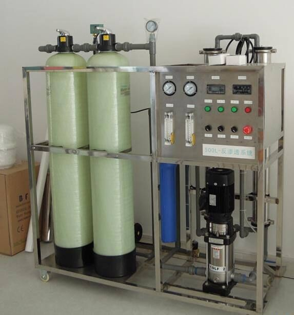 product-500LPH drinking water treatment equipment plant with price with Automatic sand carbon-Ocpuri-5