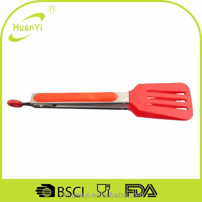 Wholesale china alibaba 9 inch mini serving tongs (HY6067)