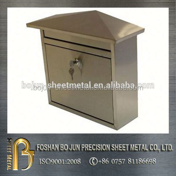 china supplier manufacture painted metal mailbox