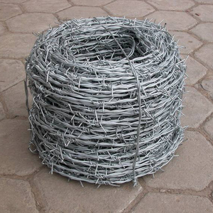 Alloyed high quality barbed wire Q195 Q235 material