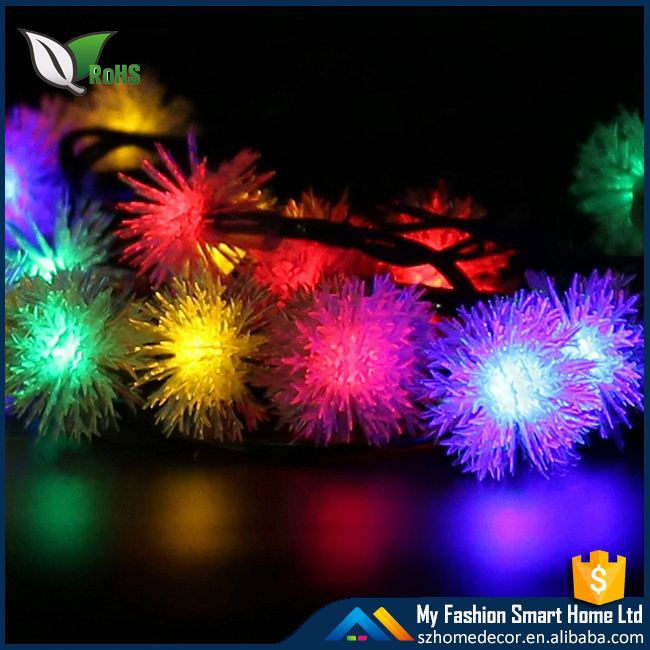 100LED WaterProof Christmas Garden tree solar holiday string Light garden lamp With 5 Colour 12 Meters Length