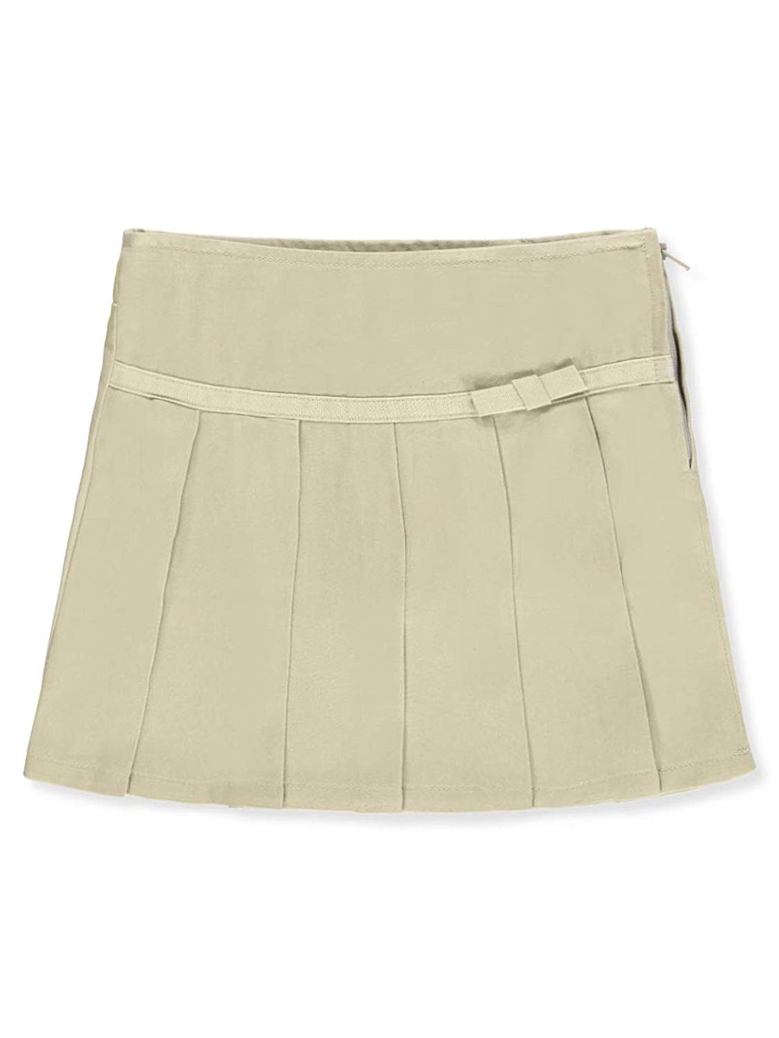 04af4547b1 Get Quotations · French Toast Big Girls' Pleated Scooter Skirt - Khaki, ...