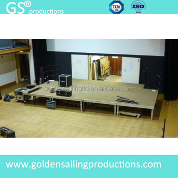 high quality stage lighting for show used portable stage for sale buy portable stage used. Black Bedroom Furniture Sets. Home Design Ideas