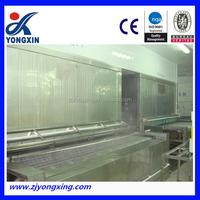 High quality and efficency net belt quick freezer/food freezing equipment