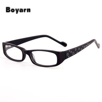 Stylish Acetate Rectangle Full-rim Women\'s Eyeglasses Frame With ...