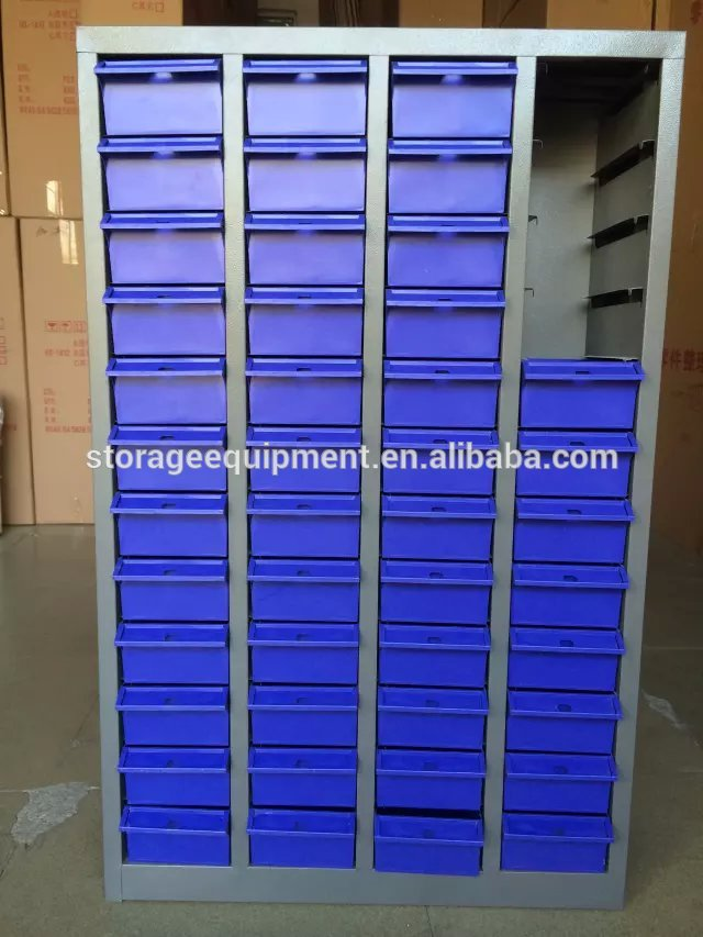 Elegant Modular Small Parts Metal Storage Cabinets
