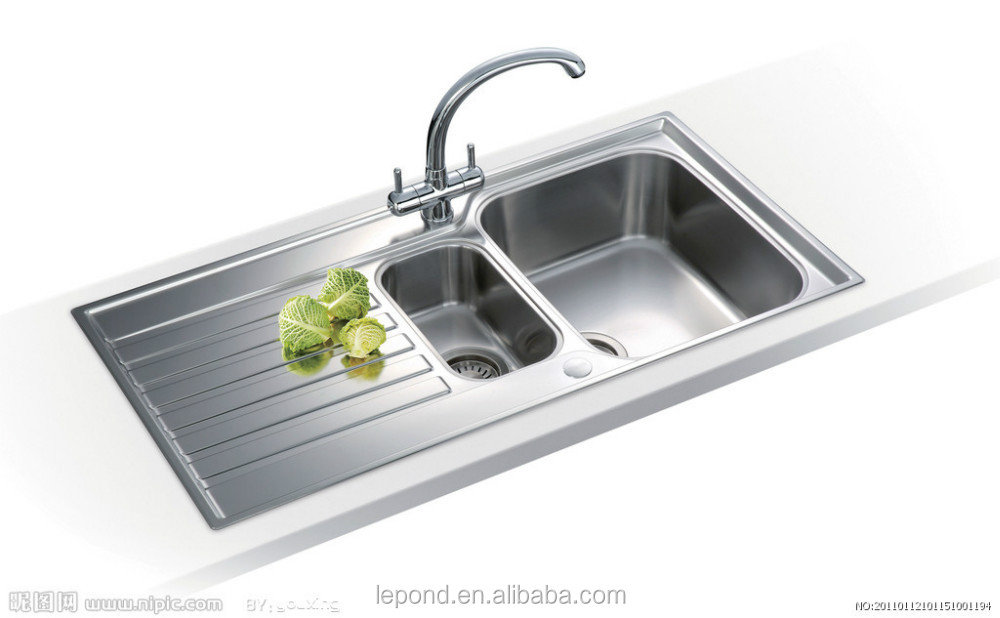 High Quality Kitchen Sink/kitchen Basin With Temper Glass Made In ...