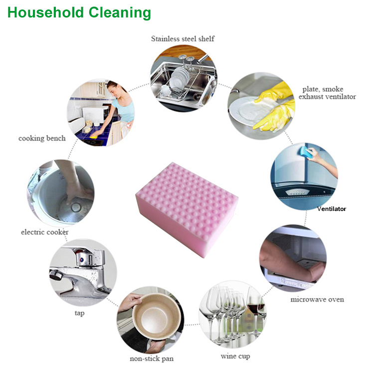 Daily Necessity Sponge Magic Helper Dish Washing Melamine