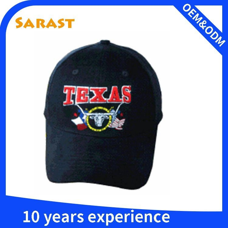Good quality embrodery 100% cotton baseball caps for kids