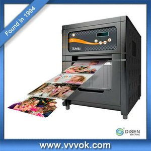 High precision photo lab printers