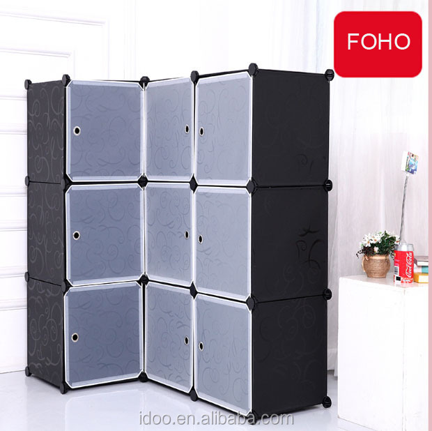 9 Cubes Conner Magic Cubes Cabinet Plastic Large Cartoon Wardrobe ...
