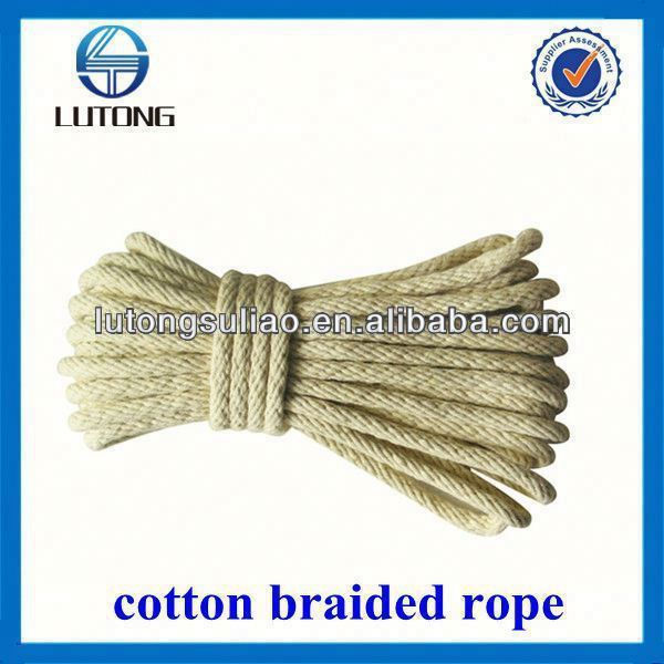 packing rope plastic rope twist cotton rope made in china