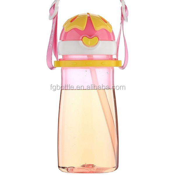 Cute kid plastic drinking water bottle joyshaker drink joyshaker bottle