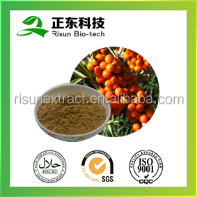 Organic Extraction Seabuckthorn Extract 10:1Powder