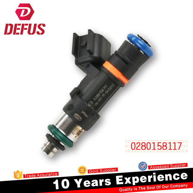 China Famous Factory Denso Fuel Injector OEM 0280158117 For Honda Civic Denso