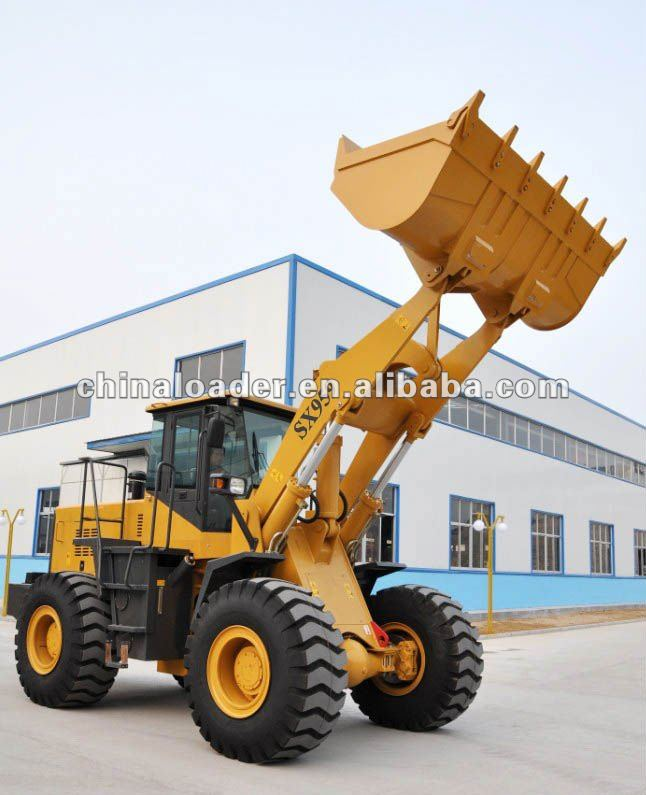 5t wheel loader with CE(SX959),construction machine/equipment parts