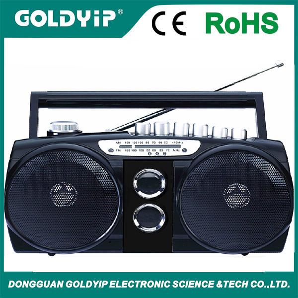 Am/fm Stereo Radio & Cassette Player/recorder Portable Boombox ...