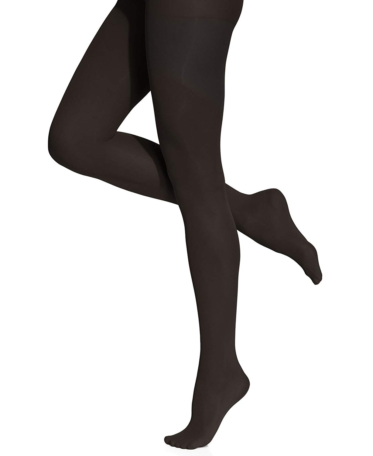 7b6e37635718d Get Quotations · Ladies 1 Pair Charnos 60 Denier Seamless Opaque Tights