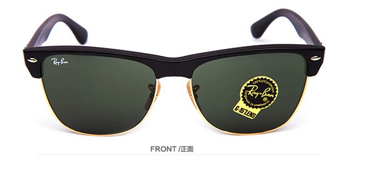 ... rayban sunglasses rb4175 877 fashion colour film sunglasses glass  optical lenses black frame green lens cebcd713b8