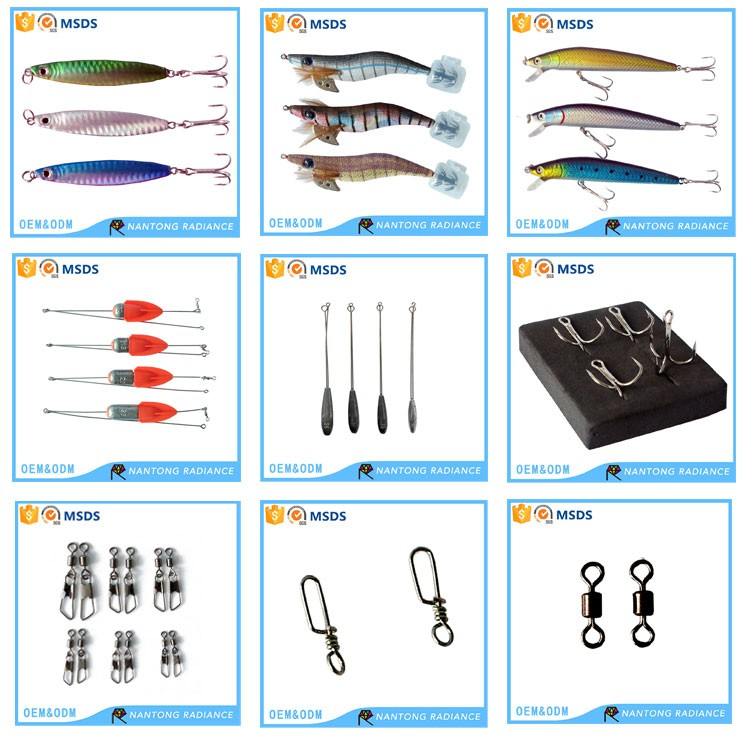 squid fishing gear saltwater fishing lures squid jig fishing bait, Reel Combo