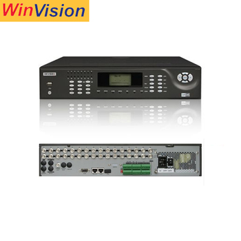 Hikvision 16 Channel h.264 Standalone DVR Support BNC analog monitor DS-8016HSI-S