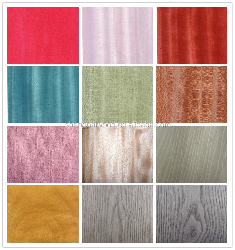 Hot Thin Dyed Wood Veneer Sheets For Furniture Laminate Sheet