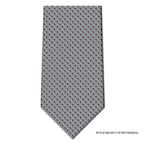 China supplier custom design gray slik woven skinny cute men ties