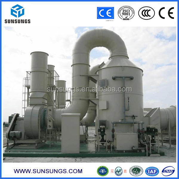 Industrial Gas Disposal Design Dust Collector Machine Wet