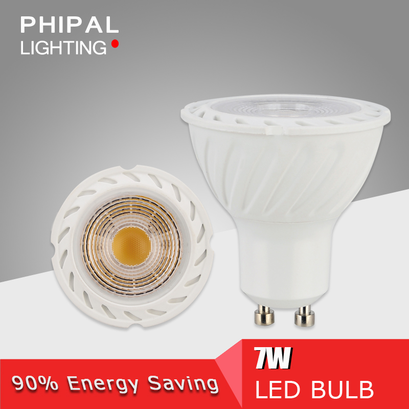 GU10 led lighting 7w COB light led spot light lamp led lamp cup 110-240v