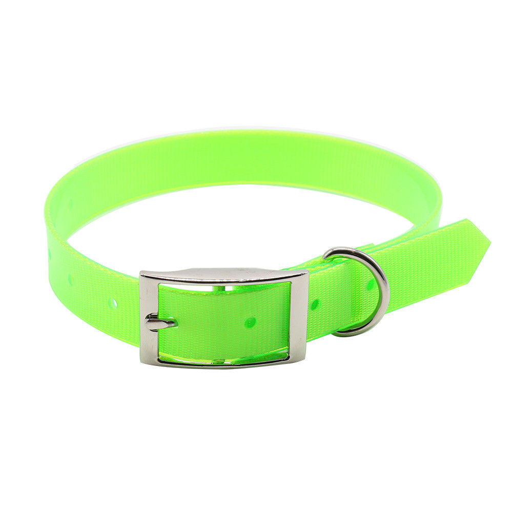 Wholesales Pet Products 조절 방수 Necklace TPU Cat Dog Collar