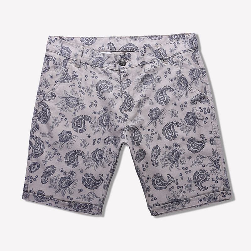 2015 new style summer casual shorts fashion hot sale breathable good quality printed men  middle shorts drop shipping