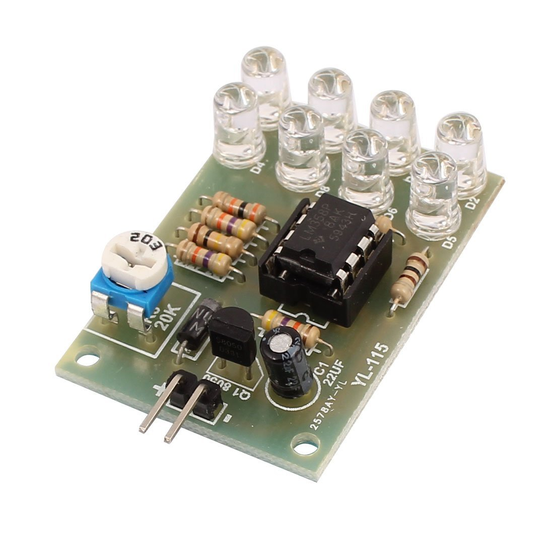 Cheap Chip Lm358 Find Deals On Line At Alibabacom Single Audio Preamplifier Lm 358 Get Quotations Uxcell 12v Breathe Light 8 5mmled Blue Flashing Lamp Parts Electronic Diy Module