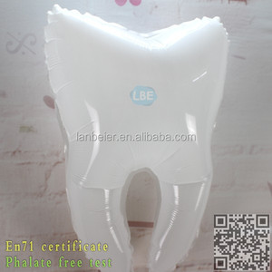 inflatable tooth helium balloon