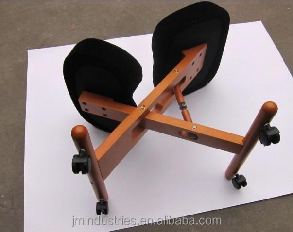 adjustable ergonomic kneeling chair knee yoga posture sit chair