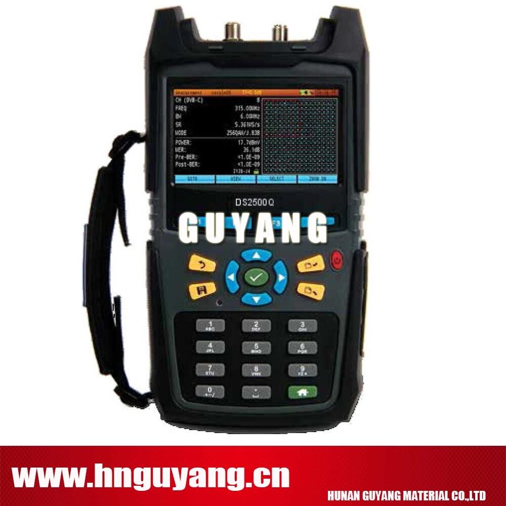 Deviser Ds2500q 1000mhz Digital Tv Qam Spectrum Analyzer