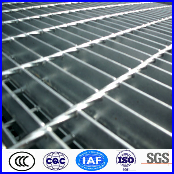 high quality galvanized dovetail pressure locked grating
