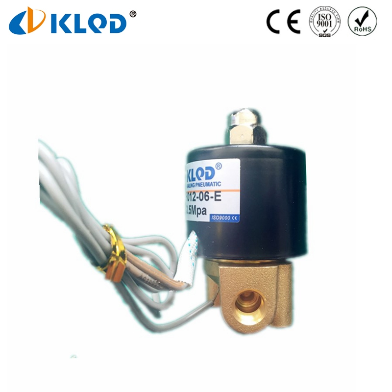 High Temperature High Pressure EPDM Sealing 2WH012-06 Solenoid <strong>Valve</strong>