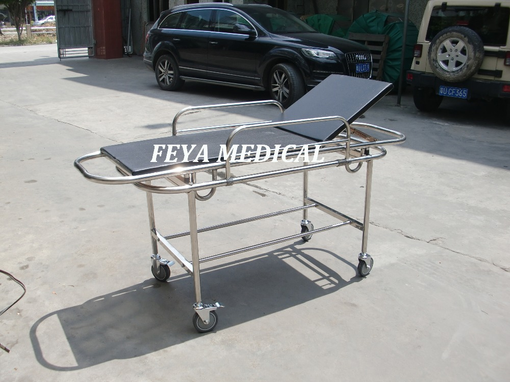 FY-C065-222 Medical Patient Transfer Trolley Stanless Steel Transport Stretcher Price